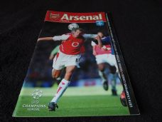 Arsenal v Auxerre, 2002/03 [CL]